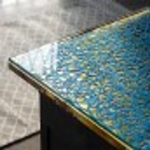 Handmade Paper Scribble - indigo
