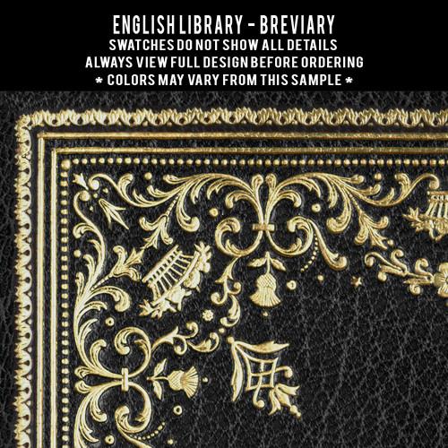 English Library: Breviary customized (set of 2)