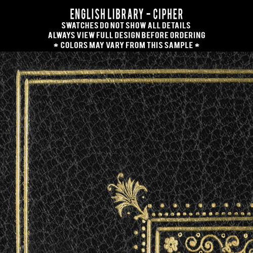 English Library: Cipher customized (set of 2)