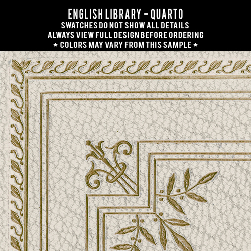 English Library: Quarto customized (set of 2)