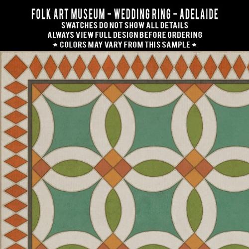 Swatches for Wedding Ring - vinyl floor cloths