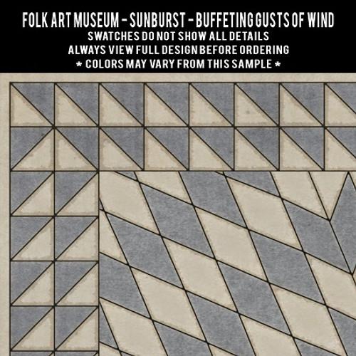 Swatches for Sunburst - vinyl floor cloths