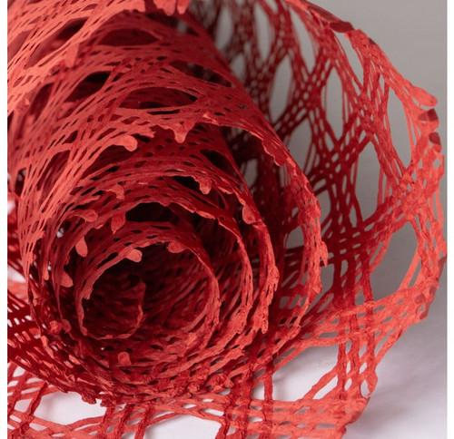 Handmade Paper Oru red