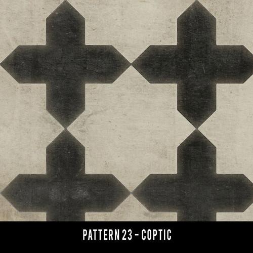 Pattern 23 - custom round sizes