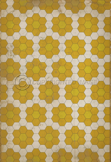 Pattern 2 Bees Knees - 53x82.5 custom size