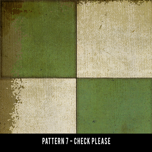 Pattern 7 Checkered Please - 60x120 custom size