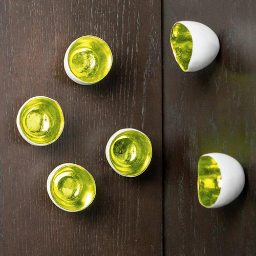 Wall Play Seed - apple green foil set  of 20