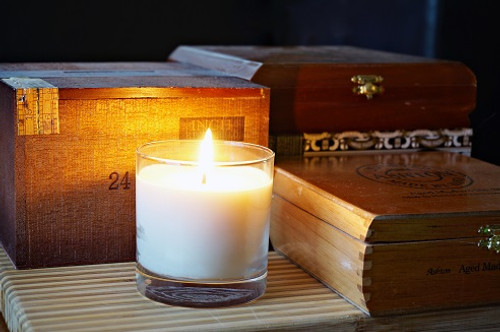 White Currant soy candle