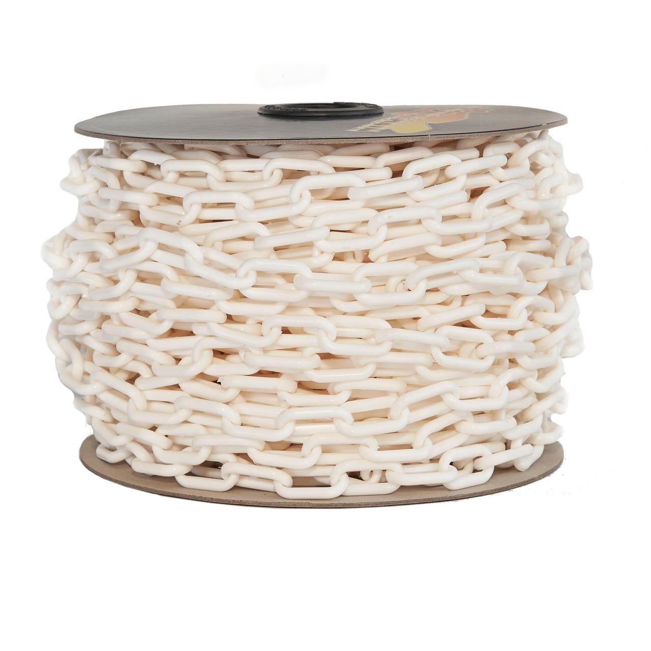 Plastic Chain 6mm White