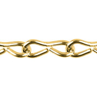 Jack Chain - 3.0mm - Brass Plated