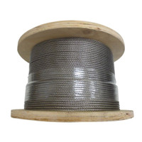 Stainless Steel Wire Rope - 3.2mm 7 x 7 Construction