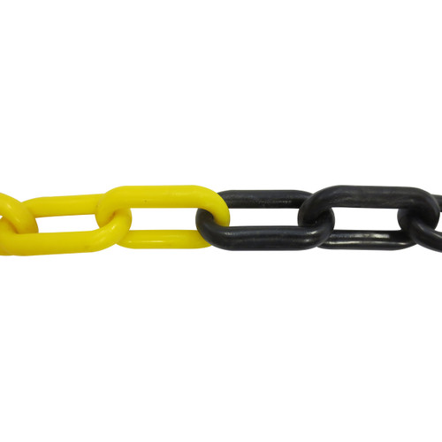 Plastic Chain 6mm Yellow/Black