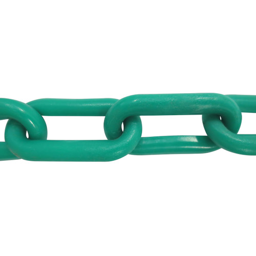 Plastic Chain 8mm Green