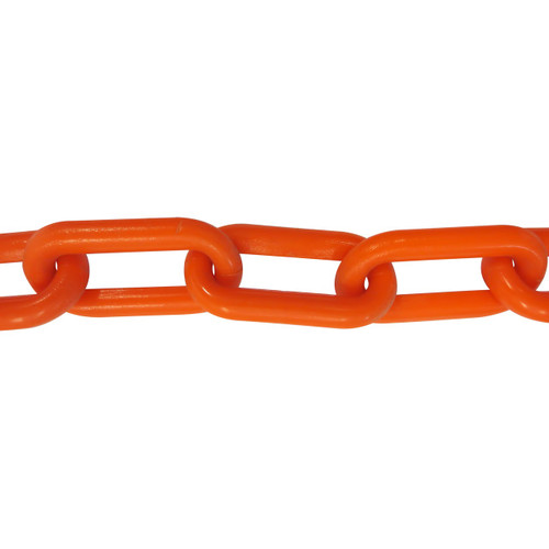 Plastic Chain 6mm Orange
