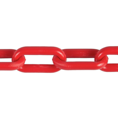 Plastic Chain 8mm Red