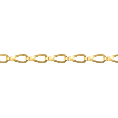 Sash Chain - 17.0mm  x 5.0mm - Polished Brass