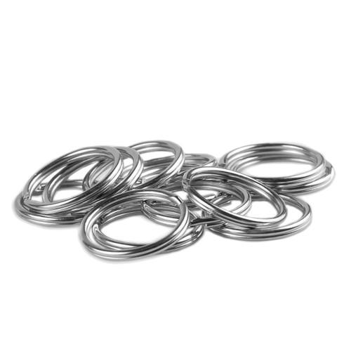 Key Rings - 38mm - Silver Nickel