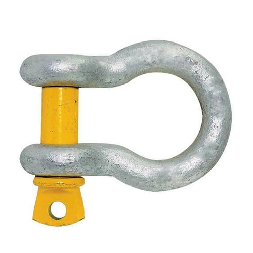 Yellow Pin Bow Shackles - 19.0mm