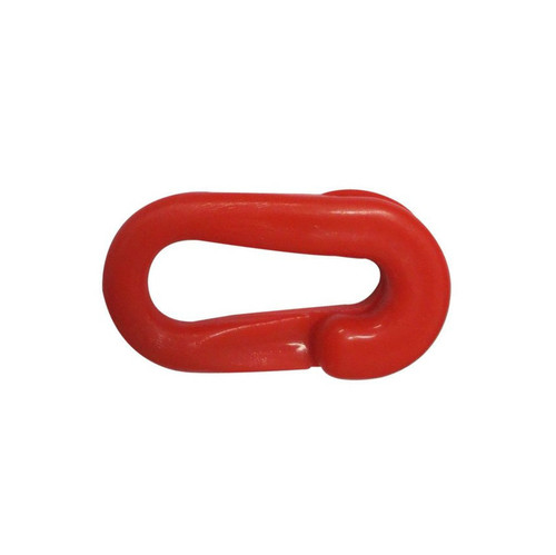 Red Plastic Chain Connectors - 8mm