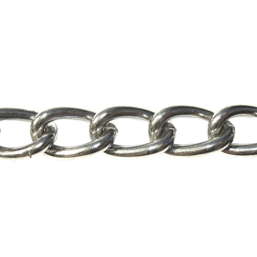 Curb Chain - 3.0mm - Stainless Steel