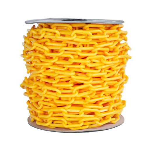 Yellow Plastic Chain - 8mm x 35m roll