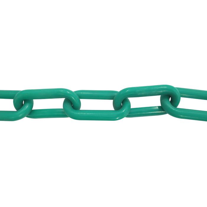 Plastic Chain 6mm Green