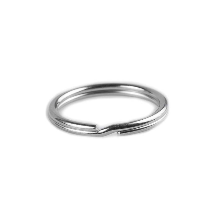 Key Rings - 20mm - Silver Nickel
