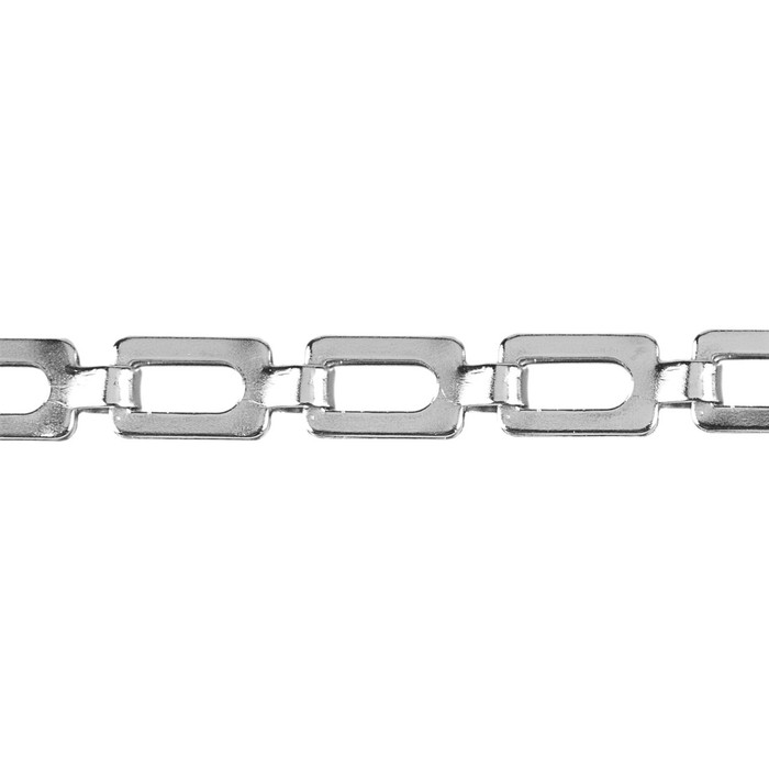 Mirror Chain - 1.8mm - Nickel Plated