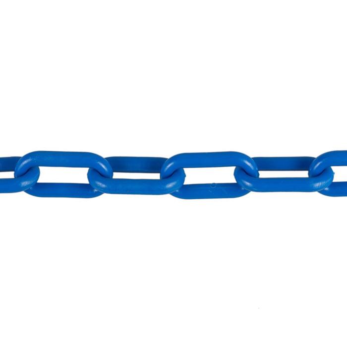 Plastic Chain 6mm Blue