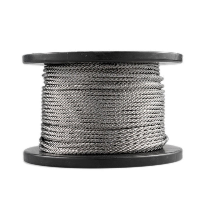 Stainless Steel Wire Rope - 3.2mm 1 x 19 Construction