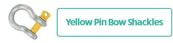 Yellow Pin Bow Shackles