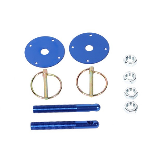 ALUMINUM COLORED HOOD PIN KITS