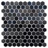 Glass Onix Hexagon Gun Metal 13x13 Mosaic