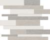 Belgian Linen Light Blend Random Strip HD Mosaics
