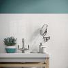 Maiolica - White Ceramic Base Wall Tile 4x10