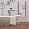"""Jeeves Collection - Model F Straight - Polished - Heated Towel Rack 20.5"""" x 41"""""""