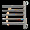 "Swivel Collection - Model Jack D005 - Polished - Heated Towel Rack 21"" x 25"""