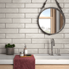Maiolica White Crackled 3x12 Wall Tile (MAIW081-312)