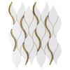 Dazzle Gold Symmetry Mosaic (ANTHDASG)