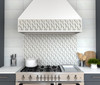 Dazzle Silver Symmetry Mosaic (ANTHDASS)