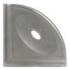 """Metro Retrofit Brushed Nickel Matte Corner Soap Dish 5"""" (SBA156024)"""