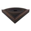 """Metro Retrofit Dark Oil-Rubbed Bronze Matte Corner Soap Dish 5"""" (SBA156070)"""