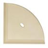 "Metro Retrofit Sand Matte Corner Shelf 8"" (SBA15503)"