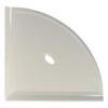 "Metro Retrofit Gray Polished Corner Shelf 10"" (SBA15321)"