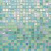 "City Lights - St. Thomas Mesh Mounted Mosaic 1/2"" x 1/2"" On 11-1/2"" x 11-1/2"" Sheet"