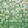 "City Lights - Fiji Paper Face Mosaic 1/2"" x 1/2"" On 11-1/2"" x 11-1/2"" Sheet"