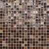 "City Lights - Bangkok Mesh Mounted Mosaic 1/2"" x 1/2"" On 11-1/2"" x 11-1/2"" Sheet"