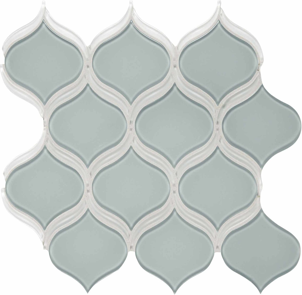 - Element Cloud Arabesque Glass Mosaics - Tiles Direct Store