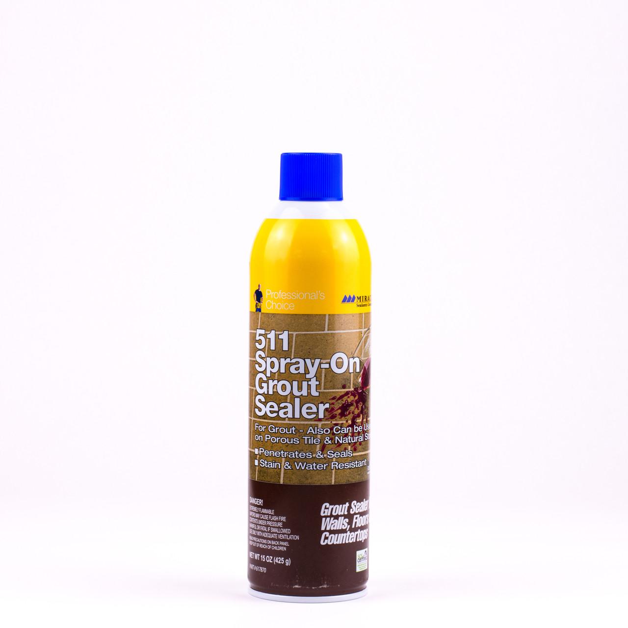 - 511 Spray-On Grout Sealer Aerosol Spray - Tiles Direct Store