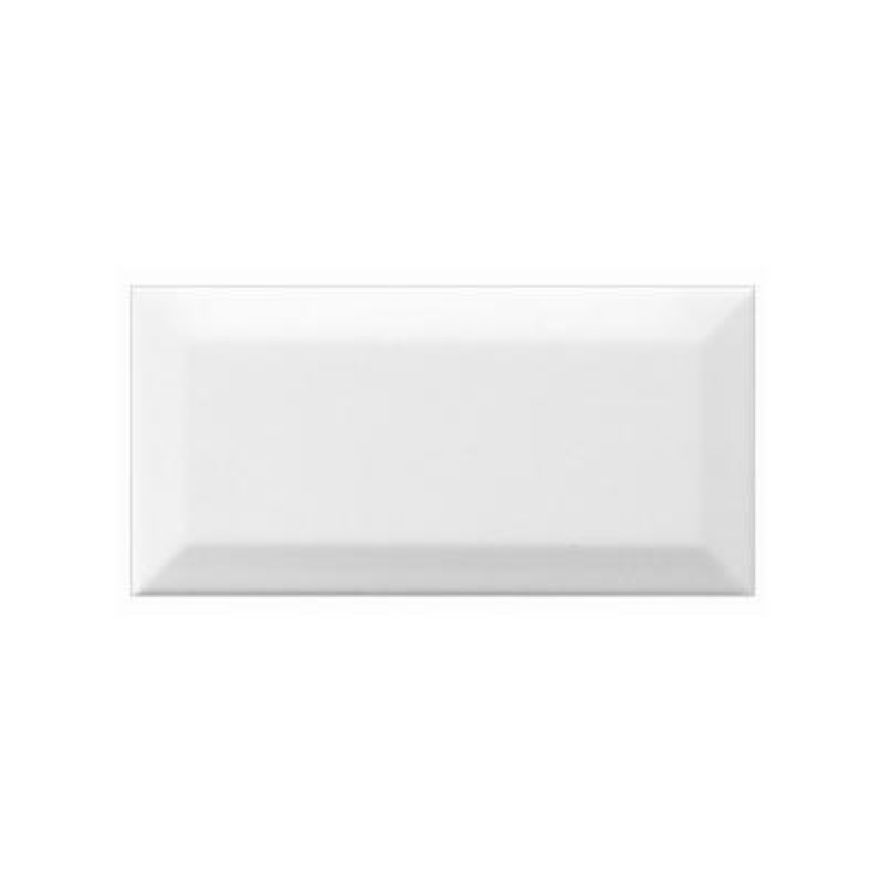 Neri White Beveled 3x6 Tiles Direct Store